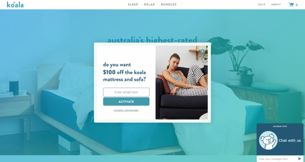 Koala Website Design Case Study