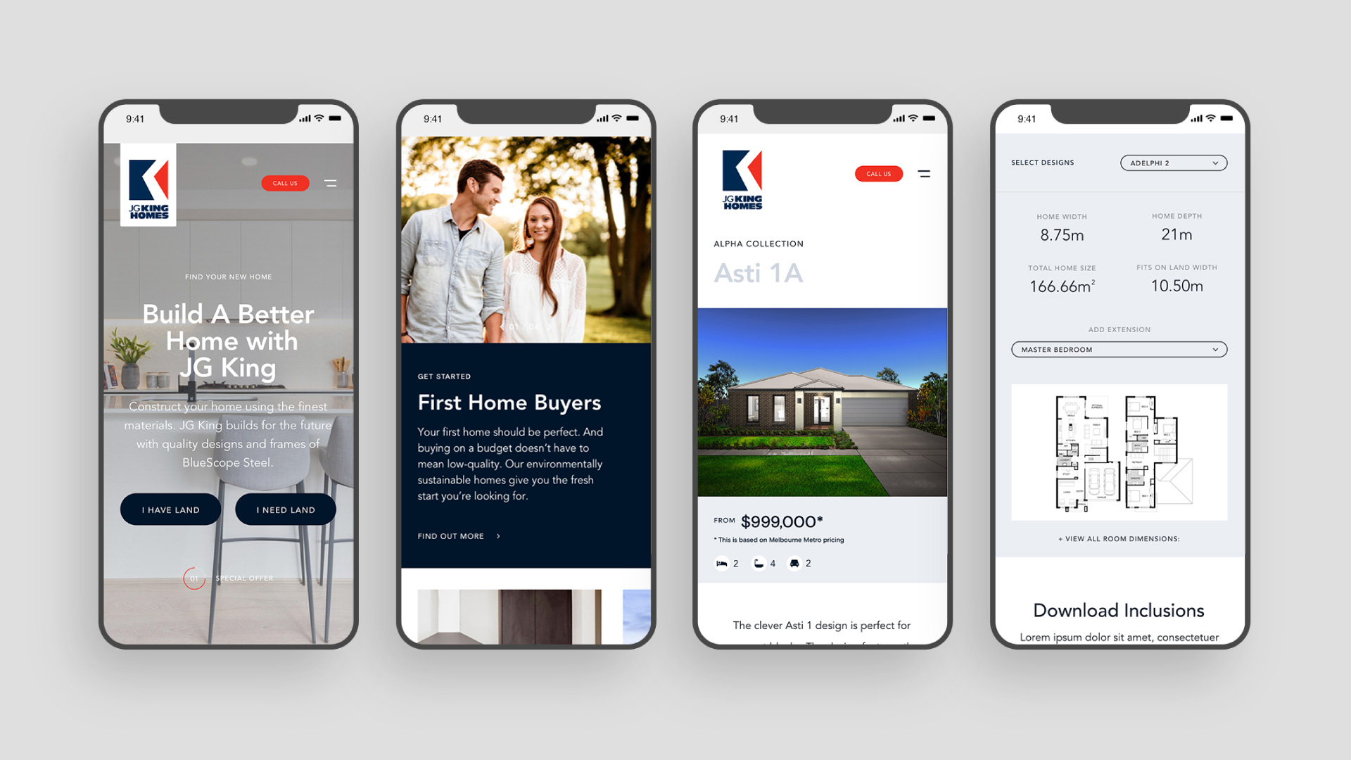 JG King Homes Mobile Case Study 02